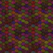 Mixed Colours Scales Seamless Pattern — Stock Photo