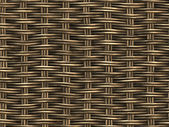Woven Wicker Background — Stock Photo