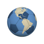 Soccer World America — Stock Photo