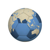 Soccer World Asia — Stock Photo
