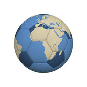 Soccer World Africa — Stock Photo