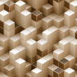 Cubes Background — Stock Photo