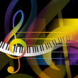 Music Background — Stock Photo #9150345