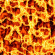 Hot Lava Fire — Stock Photo