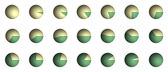 Pie Chart Percentage Graphics — Stock Photo