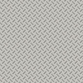 Bumped Metal Plate Seamless Pattern — Stock Photo