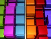 Cubes Background — Stockfoto