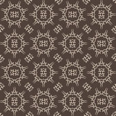 Vintage Arabesque Inspired Seamless Pattern - Original Design — Stock Vector