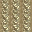 Luxury Drapes Seamless Pattern - Stock Photo