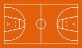 篮球场 — 图库照片