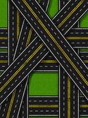 Road Invasion Vertical — Stock Photo