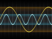 Sound Waves — Stock Photo