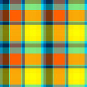 Summer Tartan Cloth Seamless Pattern — Stock Photo