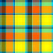 Summer Tartan Cloth Seamless Pattern — Stock Photo
