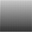 Halftone Offset Background — Stock Vector