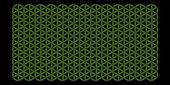 Flower of Life Pattern — Stock Vector