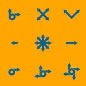 箭头集 — 图库矢量图片
