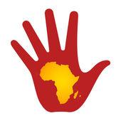 帮助非洲 — 图库照片