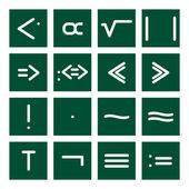 Math Icon Set 4 — Stock Vector