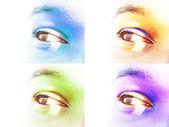 Eye Close-up — Stock Photo