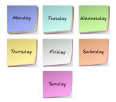 Weekdays — Stock Photo