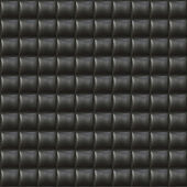 Schwarze polster leder nahtlose muster — Stockfoto