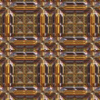 Stock Photo: Luxury Metal Seamless Pattern
