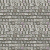 Cobblestone Floor Seamless Pattern — Stock Photo