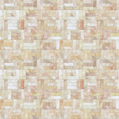 Cream Stone Floor Seamless Pattern — Stock Photo