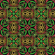 Jungle Seamless Pattern — Stock Photo