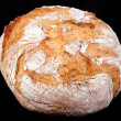 Rye Round Bread Cutout - Stock Photo