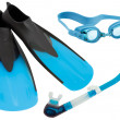 Swimming gear cutout - Stock Photo