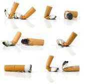 Bitucas de cigarro — Fotografia Stock