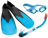 Swimming gear cutout — Stock Photo