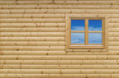 Wooden wall — Stockfoto