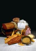 Ethnic breads — Stockfoto