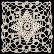 Stock Photo: Doily square