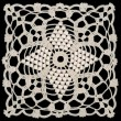 Doily square — Stock Photo #9268004