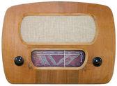 Old radio cutout — Stock Photo