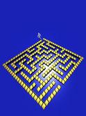 3D Maze — Stock Photo