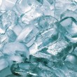 Texture of ice cubes — Stock fotografie