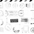 Stock Photo: Rubber stamps