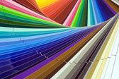 Color scale — Stock Photo