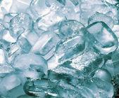 Textura de cubitos de hielo — Foto de Stock