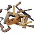 Wooden Tools — Stock Photo