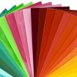 Color scale cutout — Stock Photo #9821625
