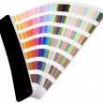 Color scale cutout — Stock Photo