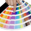 Color scale - Stock Photo
