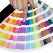 Stock Photo: Color scale