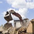 Stock Photo: Bulldozer